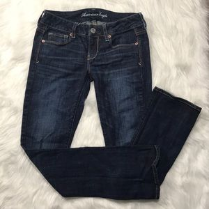 American Eagle Stretch Skinny Kick 4 Short 26x30